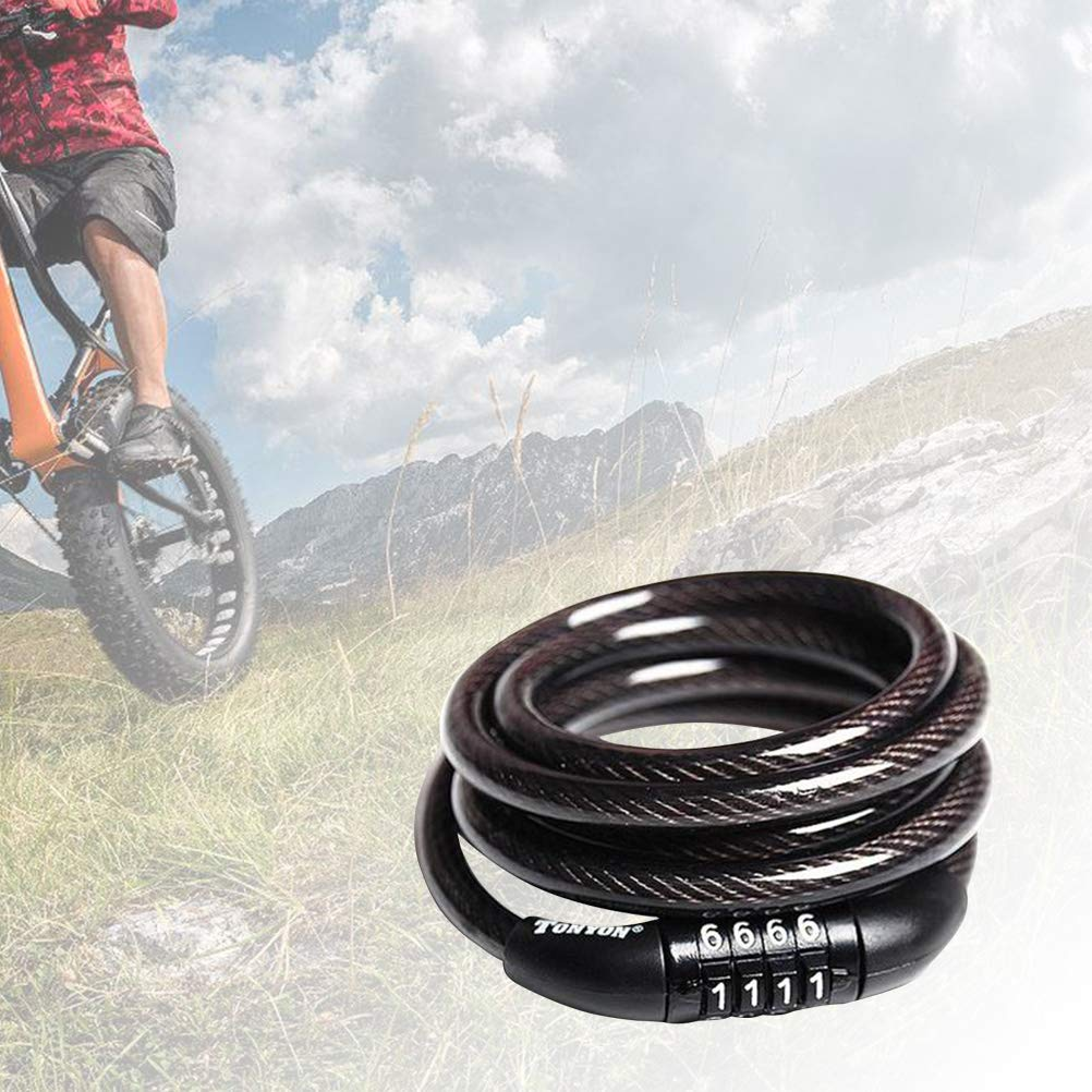 Code Password Bike Combination Lock Security Coded Bicycle Safety Cable Locks