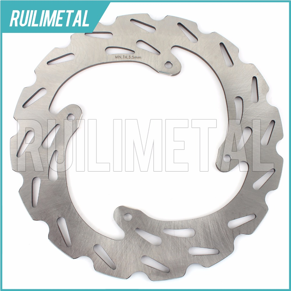 MX Offroad Rear Brake Disc Rotor for HONDA CRF 230 450 SUPERMOTARD (HM) CRE-F CRF R- X CR 250 E CRE250X 04 05 06 07 08 ahl motorcycle brake front pads for honda crf 150 230 250 450 motorbike parts fa185 crf 230 f l m 08 15
