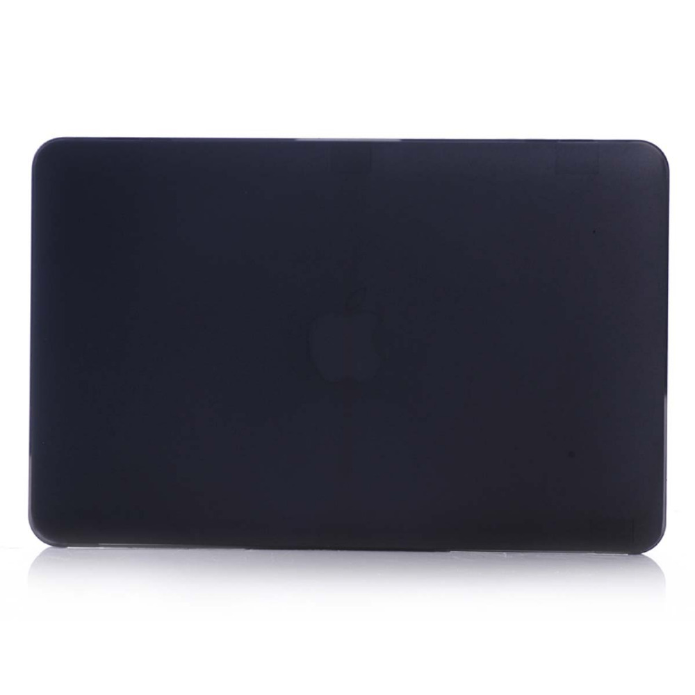 Black Matte Anti scratch Case For Apple Macbook Air Pro Retina 11 12 13 15 Laptop