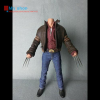 1/6 Action Figure Accessories Clothing Toys Wolverine Hugh Jackman Clothing Sets Fit 12