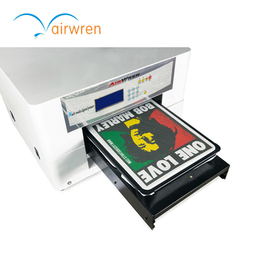 digital flatbed textile printer a3 size dtg printer for t-shirt printing digital textile t shirt printer automatic canvas printing machine for sale