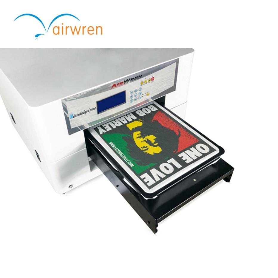 digital flatbed textile printer a3 size dtg printer for t-shirt printing стоимость