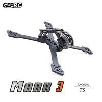 GEPRC GEP Mark3 QAV225mm 250mm 239mm X Quacopter Drone Frame Kit 4mm Arm Board 3K Full Carbon Fiber for FPV Racing Freestyle