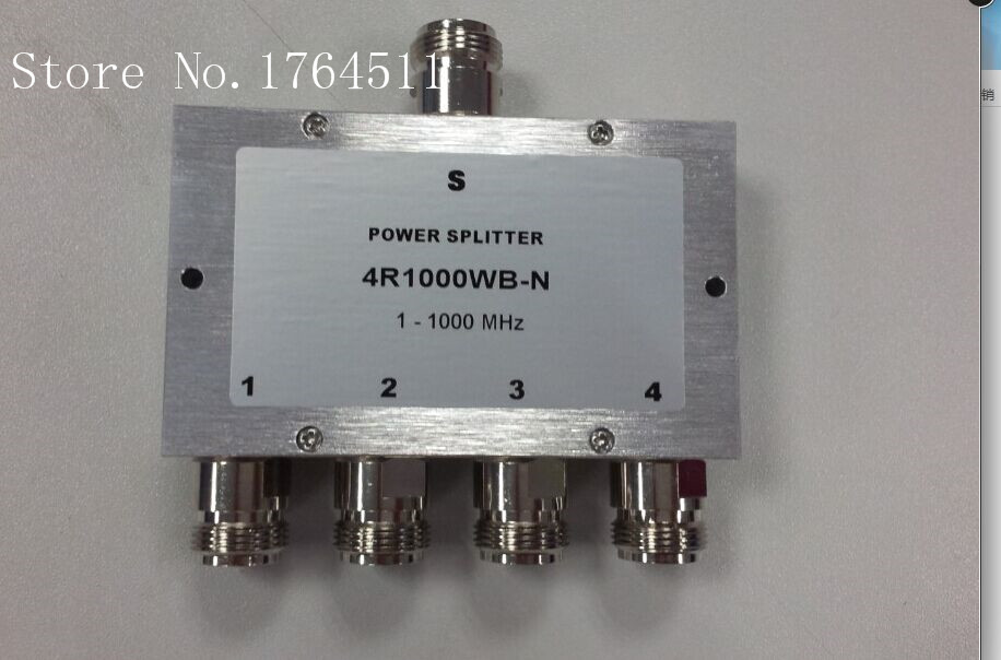 [BELLA] 4R1000WB-N A Four Divider / Combiner 1-1000MHz 50 Ohm N Female Connector