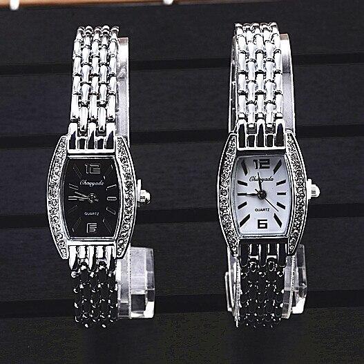 Fashion Silver Watch Women Bracelet Women's Watches Luxury Rhinestone Ladies Watch Women Watches Clock reloj mujer