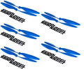 (Blue) 8045 Props 8x4.5 CW/CCW Propeller for multicopter quadcopter FPV