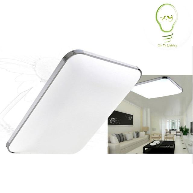 Hohe Helligkeit Deckenleuchten Einfache Kurze Moderne FÜHRTE Quadratische  Form Für Zuhause Innen Wohnzimmer Küche Veranda Licht Deckenleuchte Ligh