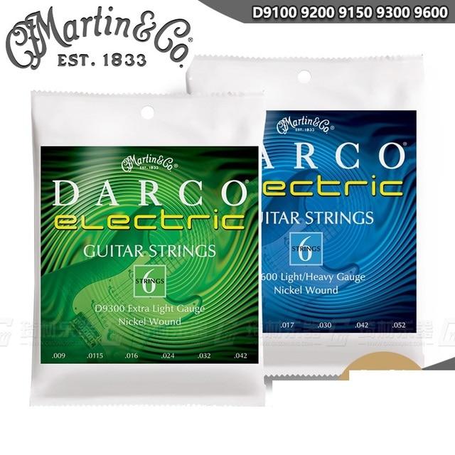 MartinGuitar Darco Series Nickel Wound Electric Guitar Strings D9100 D9150 D9200 D9300 D9600