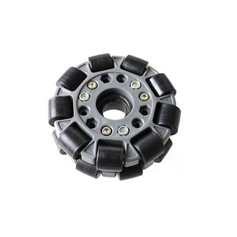 DOIT 1pcs 100mm Omni-directional Wheel 4 inch Omni wheel for Robot Competition Robocup/Robocon/DIY/Robot Study with Metal Hub 70mm double layers plastic omniwheel conveyor robot wheel omni directional double layer bearing caster roller