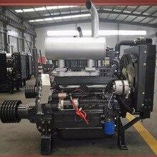 Weifang серия ZH4100ZP 50kw/2000rmp дизельный двигатель Ricardo с фиксированной мощностью с муфтой подключения