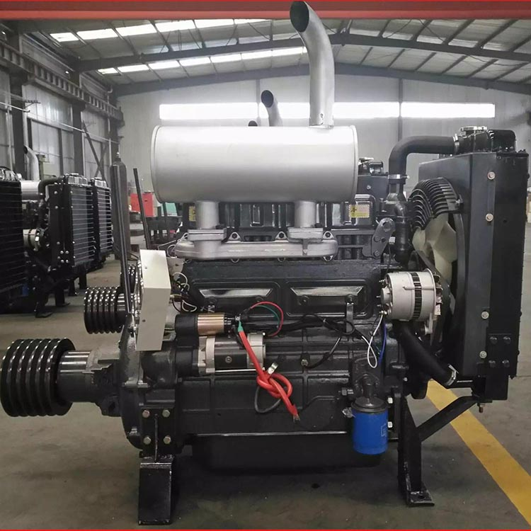 Weifang Series ZH4100ZP 50kw/2000rmp fixed power Ricardo Diesel engine with clutch connecting