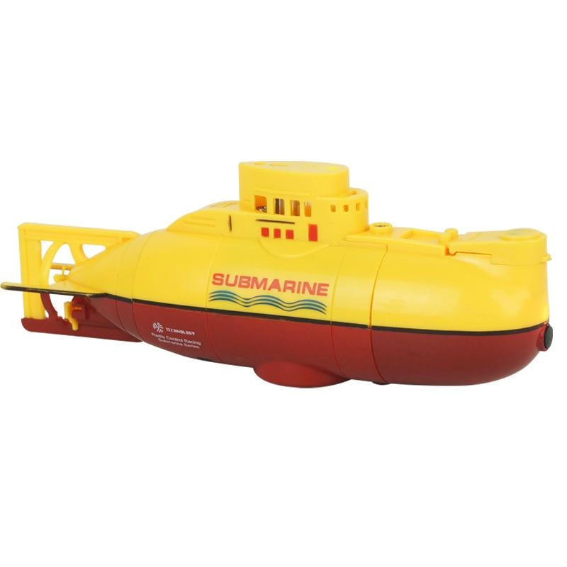 Ferngesteuertes U-boot 4 Kanal Fernwirk Submarine Mini Fernbedienung Boot Schiff Modell Spielzeug