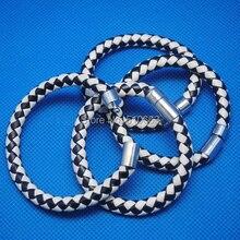 6 lenght Leather Bracelet,Size: