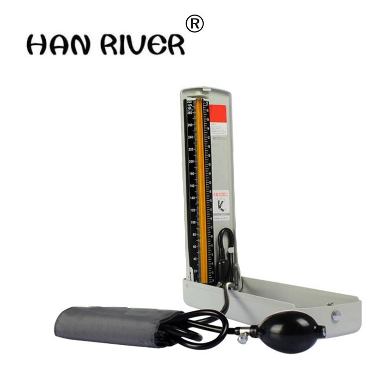 Home health detector sphygmomanometer desk-top blood pressure meter Manual measuring blood pressure Household medical upper arm