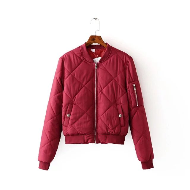 High Quality Red Bomber Jacket Women-Buy Cheap Red Bomber Jacket ...