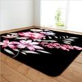 Rechtecke Rose blume druck teppich Anwendbar Hause wohnzimmer schlafzimmer hotel andere High end Dekoration teppich Küche Nicht  slip matte-in Teppich aus Heim und Garten bei