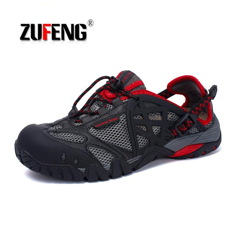 Outdoor Sneakers Trail Hiking-Sandals Trekking Breathable Big-Size Men Women