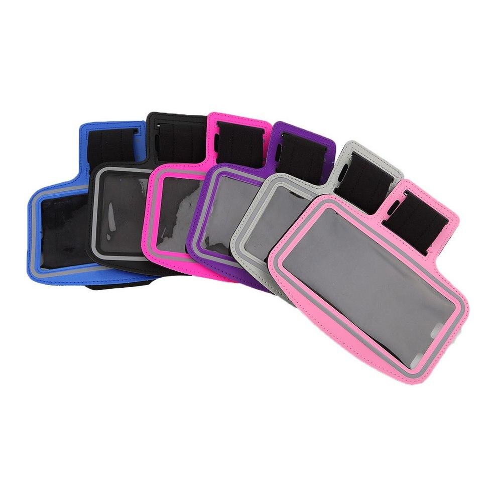 5 шт. модные Водонепроницаемый бег трусцой спортивная повязка Обложка держатель для <font><b>iPhone</b></font> 6 Plus темно-синий аксессуары для смартфона