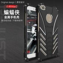 R-Just Batman Luxury Metal Armor Case For Xiaomi Mi 5 MAX 5S Plus Note 2 5C 6 MAX 2 2 in 1 Aluminum Coque Capinhas Back Cover mythology for xiaomi 5c mi5c big back