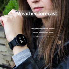 SENBONO IP68 עמיד למים ספורט S08 חכם שעון קצב לב צג Smartwatch עם להחלפה רצועות כושר Tracker צמיד