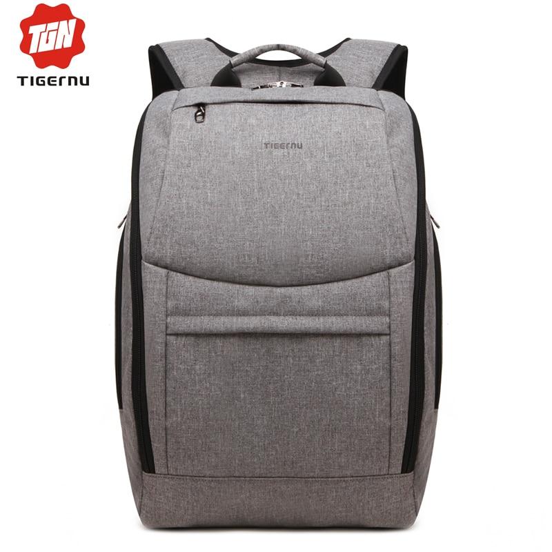 ФОТО 2017 Fashion Women Backpack Tigernu Brand Notebook Bags for 14 Inch waterproof Backpack Bag Men School Backpack for Teenage Girl