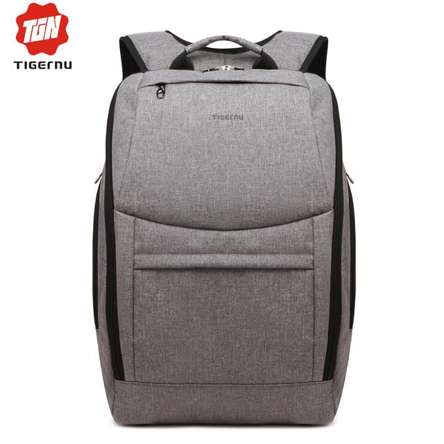 2017 mulheres da moda mochila tigernu sacos para 14 polegada mochila impermeável saco de notebook da marca homens mochila escolar para adolescentes menina