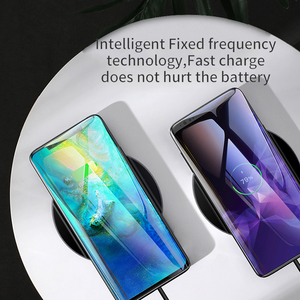 Image 4 - Baseus Qi Wireless Charger For Huawei Mate 20 Pro 10W Fast Wirless Wireless Charging Pad For iPhone 11 Pro Max X Xs Samsung S9