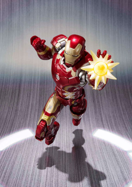 Iron man MK43 movable action figure