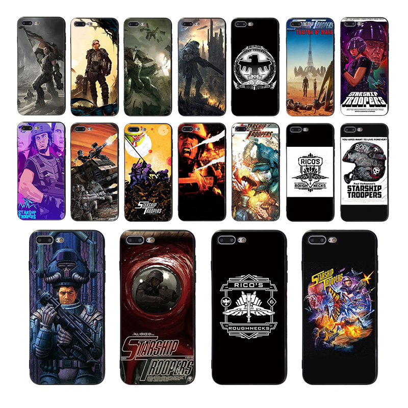 Starship Troopers Soft black silicone phone case for iphone 5 se 5s x xr xs max 7 8 6s 6 plus 10 cover shell Coque Funda housing