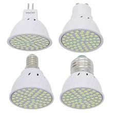 1 шт. 6 Вт 9 Вт 12 Вт E27 / E14 / GU10 / MR16 220 В Светодиодная лампа Точечный светильник 48 светодиодов 60 светодиодов 80 светодиодов 2835 SMD сменная галогенная лампа для люстры