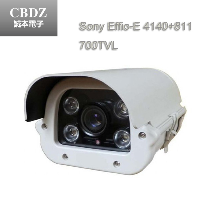 Promotion Metal housing Guard  1/3 Sony CCD 700TVL High-Line Security Camera Dust-proof &Waterproofbullet  Surveillance camera