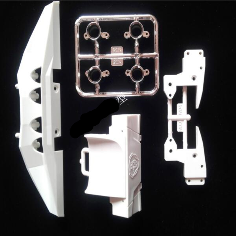 Tamiya scania truck spare parts spoiler kits of tail beam for tamiya 1/14 rc scania actros R470 R620 56323 R730 tractor trailer