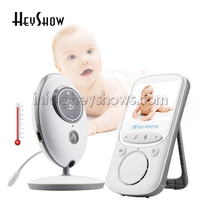 VB605 Wireless 2.4 Inch Color LCD Audio Video Baby Monitor Intercom IR LED Portable Baby HD Camera Baby Walkie Talkie Babysitter