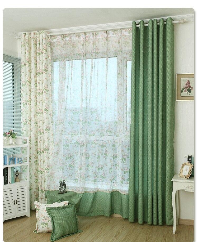 Koreaanse tuin custom afgewerkt gordijnen slaapkamer gordijnen warme ...