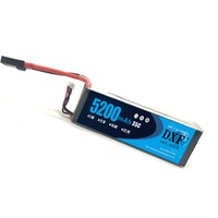 DXF Lipo 3S Battery 11.1V 5200mAh 35C MAX 70C for Boat RC Car Quadcopter Helicopter Truck Model Buggy 3 Cell