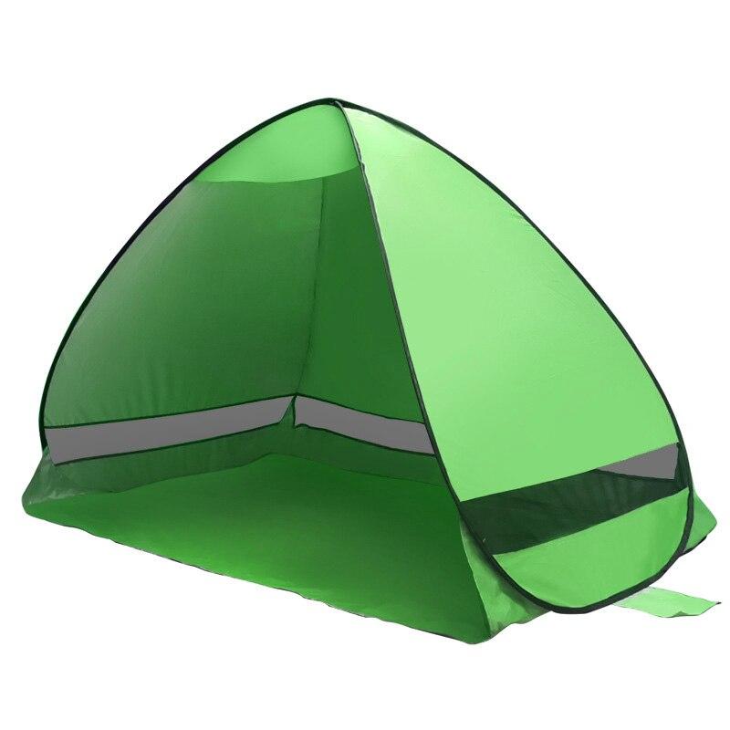 NOUVEAU Automatique de Camping tente de plage Pop Up Instant Ouvert Anti UV Auvent Tentes En Plein Air Sunshelter
