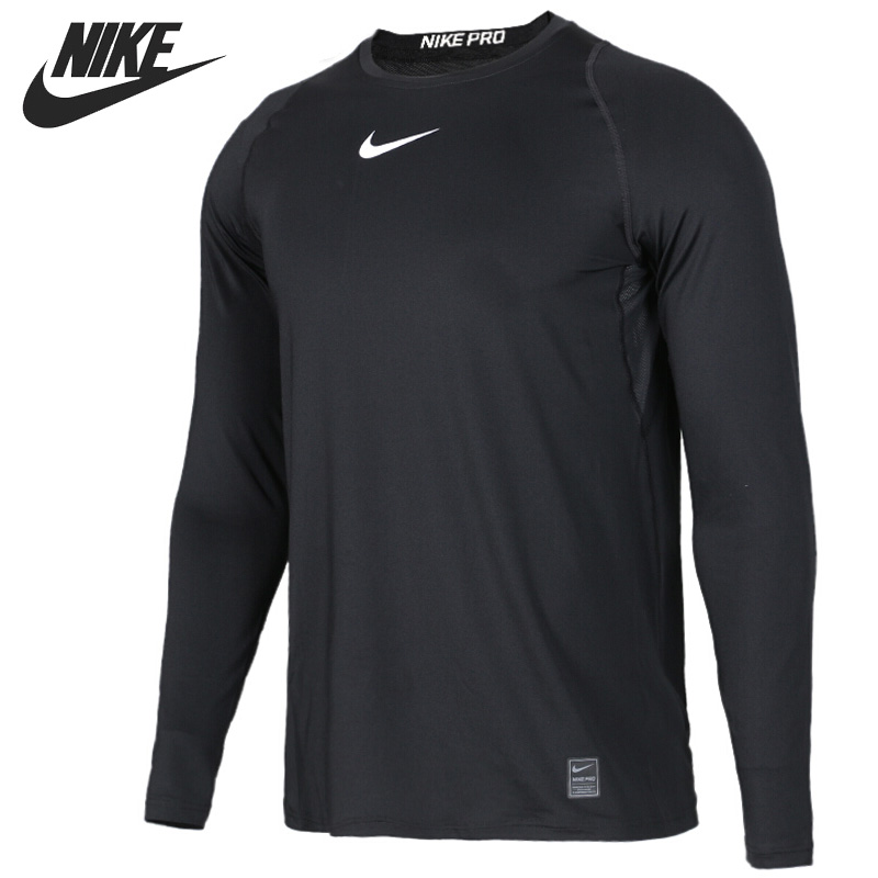 Original New Arrival NIKE AS M NP TOP LS FTTDPRO Men's T shirts Long sleeve Sportswear