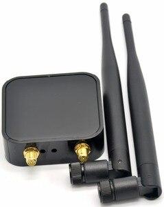 Image 2 - 802.11a/b/g/n 300 mb/s dwuzakresowy bezprzewodowy Adapter USB WiFi dla Ralink RT5572 + 5dBi zewnętrzny WiFi antena dla systemu Linux/Windows 7/8/10