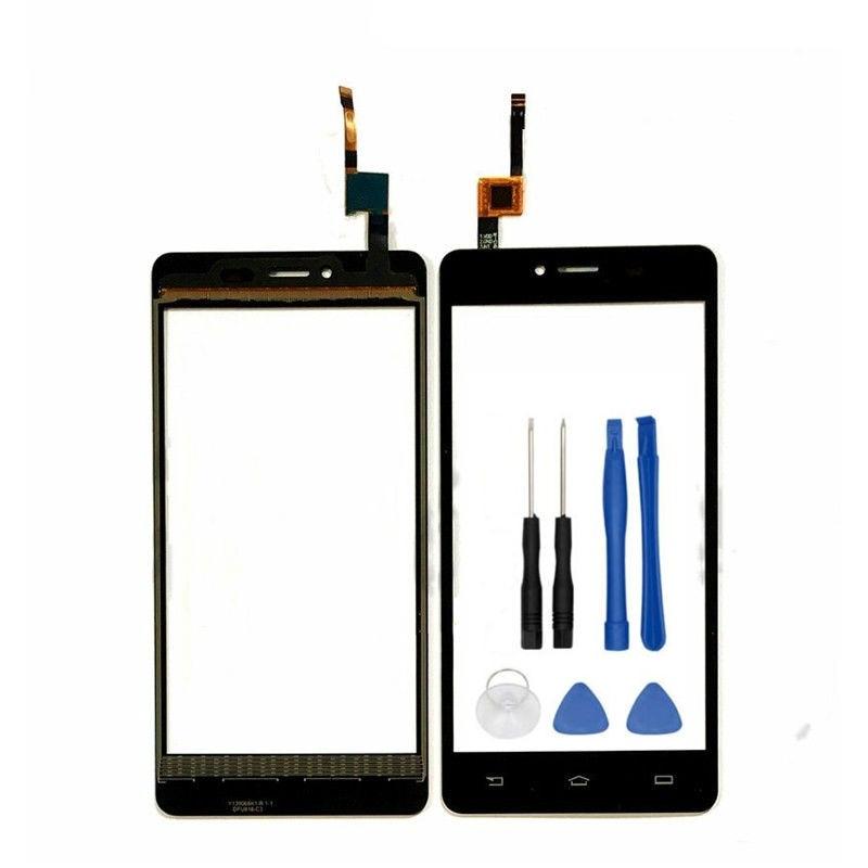 טלפון נייד חזית זכוכית מגע Digitizer מסך עבור פיליפס S326 משטח מגע מסך מגע לוח מגע חיישן עדשה + כלים