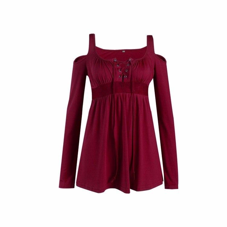 HTB18ESHPpXXXXXfaXXXq6xXFXXXZ - Women Spring Long Sleeve Off Shoulder V-neck T Shirt