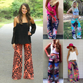 New Arrival Women Summer Casual Low Waist Loose Wide Leg Pants Trousers Straight Beach Pants