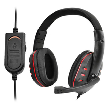 3.5mm Adjustable Luxury Universal Wird Gaming Headset Headphones with Mic For PS4 Headset Low Bass Stereo for PC Laptop Computer