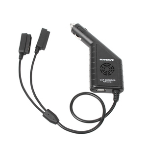 Image 5 - DC 12 16 V 3 Port Car Charger Battery  & USB Port Remote Control Charging For DJI mavic 2 zoom / pro Drone Accessories