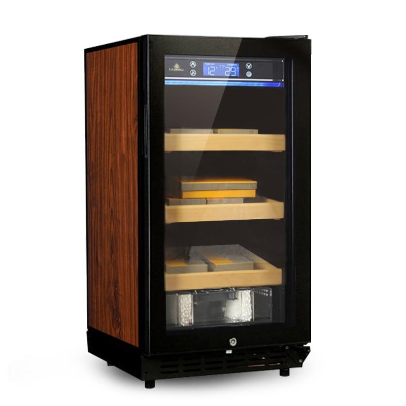 Household Cigar Cabinet Constant Temperature and Humidity Cigar Cabinet Three-layer Cigar Case Wine Cabinet LF-9001 недорго, оригинальная цена