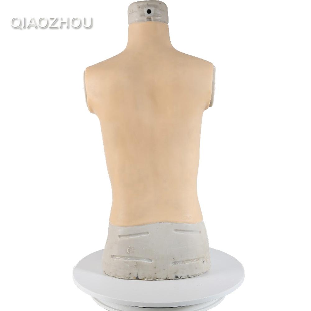 Big G cup high collar crossdresser fake boobs breast form realistic silicone natural shake high elasticity