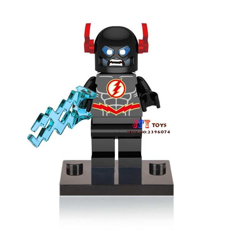 Одна продажа супергерой marvel FLASH Черный DC строительные блоки Модель Кирпичи
