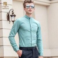 Fanzhuan Free Shipping 2017 New Fashion Casual Male Men S Long Sleeved Slim Shirt Autumn 713176