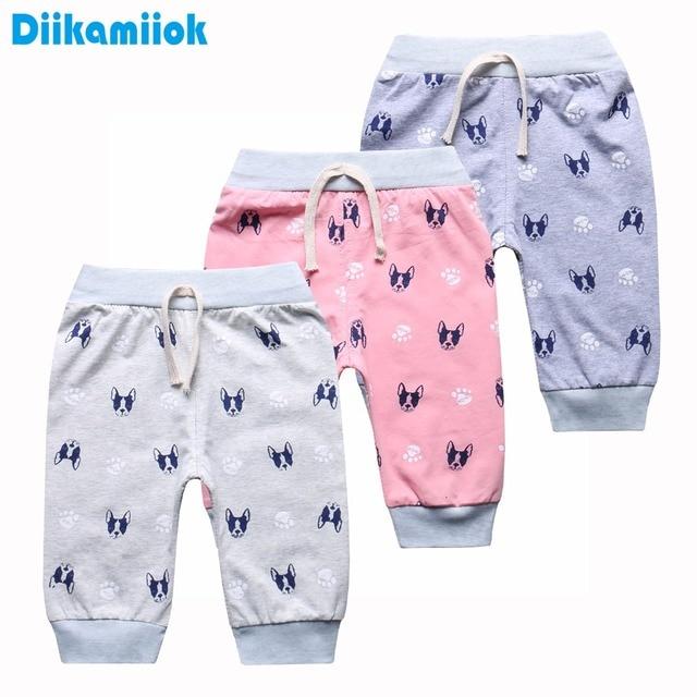 03064a030c 2018 nuevos bebés del verano Pantalones para niñas pantalones casuales  niños rodilla longitud pantalones cortos capris