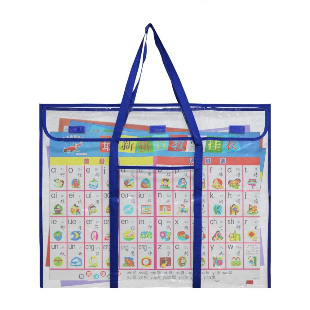 Bulletin Board Poster, Extra-Large Storage Chart Bag 30
