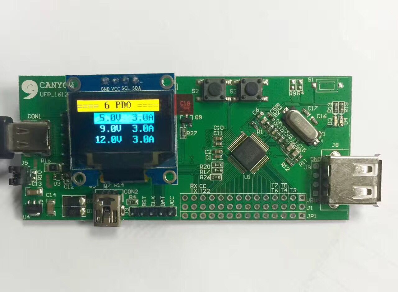 Trap, TYPE-C, PD Test Fixture, Test Board, Protocol Tool, Quick Charge Test bga272 test fixture ssd flash test solution sm2246en two in one test board for smart phone date recovery